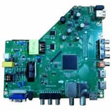Универсальная платформа скалер RR52CI.818A DVB-T2 DVB-S2 DVB-C Россия c БП