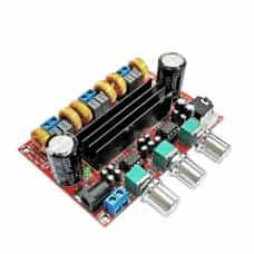 Аудио усилитель 2,1  2*50W+100W XH-M139