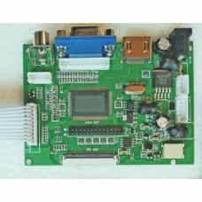 Универсальный скалер монитора pcb800099-v.9 RTD2660H AV HDMI VGA