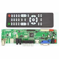 Универсальный Скалер HDVV9-AS V3.0 v59 с ТВ тюнером (VGA VDI HDMI Audio USB)