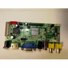 Универсальный скалер монитора  V59 HDMI VGA AUDIO USB-2 мини