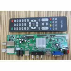 Скалер монитора универсальный GSD63SIT0-V1.1 DVB-T2 DVB-S2 со спутниковым тюнером