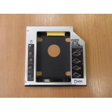 Карман Optybay HDD Caddy  в виде привода для ноутбука SATA 2.5' 12.7 мм