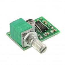 Услитель PAM8403 с регулятором-выключателем