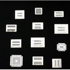 Шаблоны для реболла память DRR DDR2 DDR3   12шт