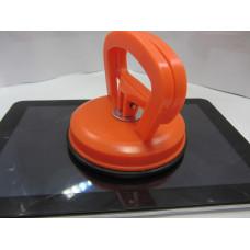 Вакуумный съемник тачскриной d=11.6см с фиксацией ( Присоска Большая)
