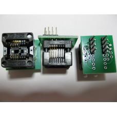 Переходник SOP8 на DIP8 Mil150 (24 серия) для программатора CH341
