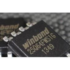 Микросхема Winbond W25Q64BVSIG 64MBit 8MB SPI Flash SOP-8