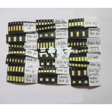 Набор светодиодов LED 21 вид по 10 шт 3030 2835 3535