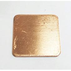 Медный термоинтерфейс 0.5 mm  20х20