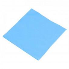 Термопрокладка 100*100*2,0 мм синяя 3,2W/mK