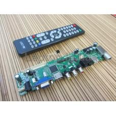 Скалер HK T.RT2936V02  DVB-T DVB-T2 DVB-C