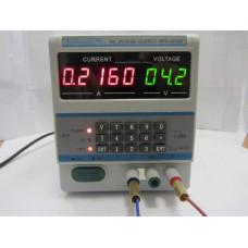 Лабораторный блок питания DPS-305BF с дисплеем  30В 5А 4 разряда