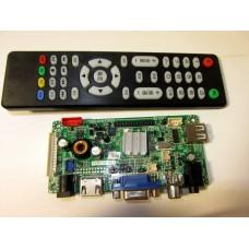 Универсальный скалер (контроллер) монитора AVX9-CZ V 2.1