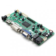 Универсальная плата управления монитора NT68676  VGA DVI HDMI звук