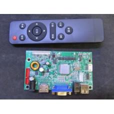 Скалер монитора универсальный LAMV V59 HDMI VGA AUDIO USB