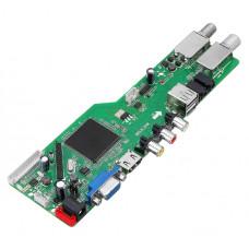 Скалер монитора универсальный  RR52C.04A DVB-T2DVB-S2DVB-C