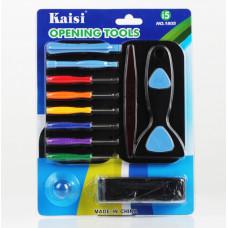 Набор инструментов  для ремонта вскрытия 15 предметов Kaisi