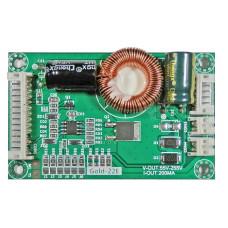 """LED драйвер подсветки монитора 22 - 60 """" Gold-22E 55-255 V"""
