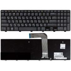 Клавиатура для ноутбука DELL (Inspirion: M5110, M511R, N5110) rus, black
