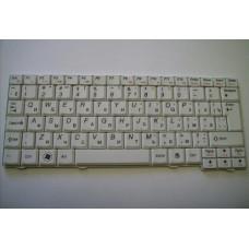 Клавиатура для ноутбука LENOVO (S10-2, S10-3), rus, white 25-008905