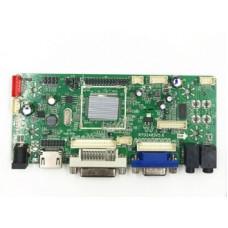 Скалер монитора универсальный RTD2483V5.0 VGA DVI HDMI