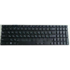 Клавиатура для ноутбука ASUS (N76VM, N76VZ, Keyboard+передняя панель) rus, black