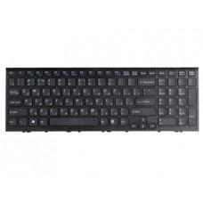Клавиатура для ноутбука SONY (VPC-EE series) rus, black, with frame