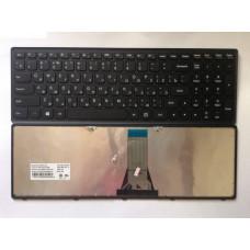 Клавиатура для ноутбука LENOVO (Flex 15, Flex 15D, G500s, G505s, S510p) rus, black